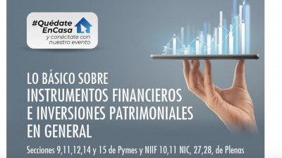 Lo Básico sobre Instrumentos Financieros e Inversiones Patrimoniales en General